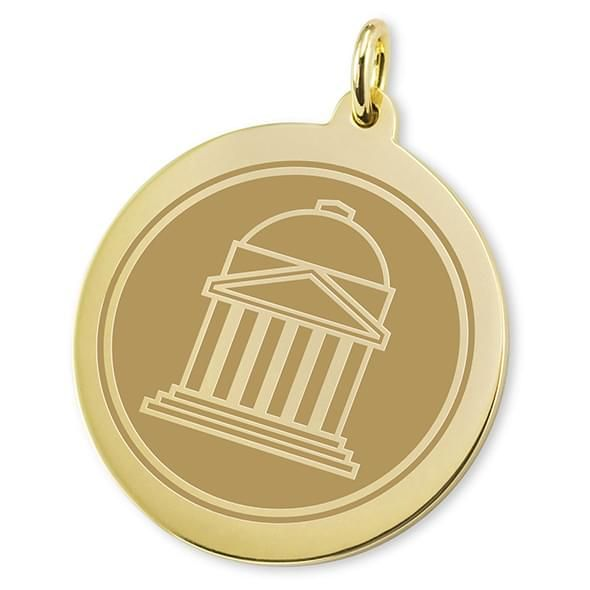 SMU 14K Gold Charm - Image 2