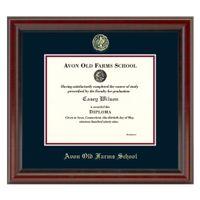 AOF Diploma Frame, the Fidelitas