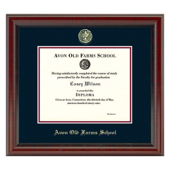 AOF Diploma Frame, the Fidelitas - Image 1