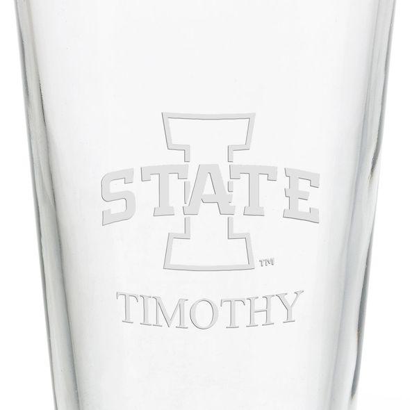 Iowa State University 16 oz Pint Glass - Image 3