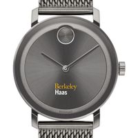 Haas School of Business Men's Movado BOLD Gunmetal Grey with Mesh Bracelet