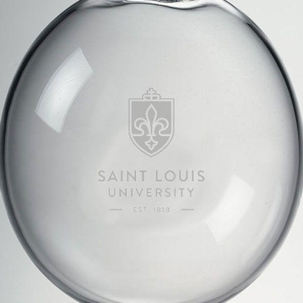 Saint Louis University Glass Ornament by Simon Pearce - Image 2