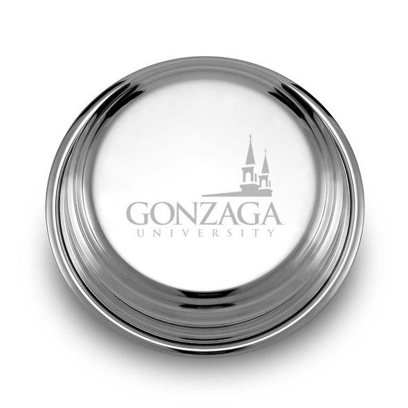 Gonzaga Pewter Paperweight