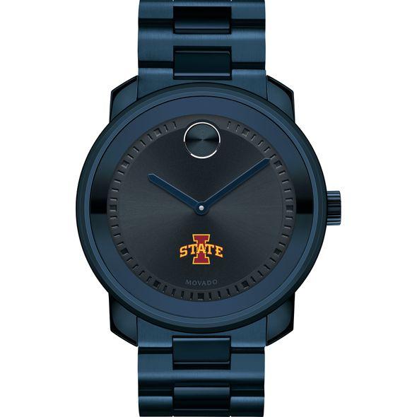 Iowa State University Men's Movado BOLD Blue Ion with Bracelet - Image 2