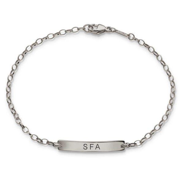 SFASU Monica Rich Kosann Petite Poesy Bracelet in Silver