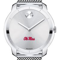 University of Mississippi Men's Movado Stainless Bold 44