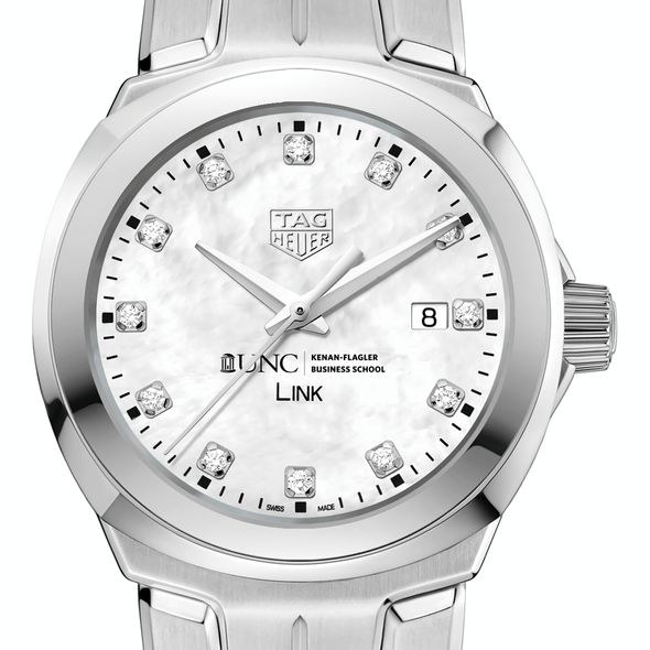 UNC Kenan-Flagler TAG Heuer Diamond Dial LINK for Women