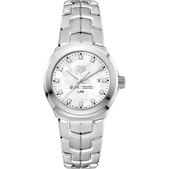 UNC Kenan-Flagler TAG Heuer Diamond Dial LINK for Women - Image 2