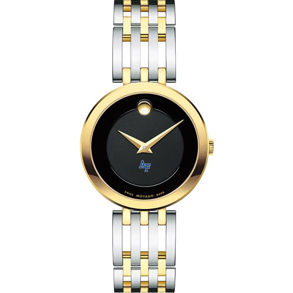 US Air Force Academy Women's Movado Esparanza Two-Tone Museum with Bracelet - Image 2