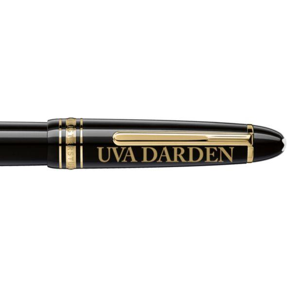 UVA Darden Montblanc Meisterstück LeGrand Rollerball Pen in Gold - Image 2