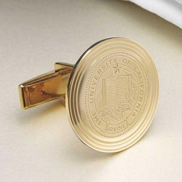 UC Irvine 14K Gold Cufflinks - Image 2