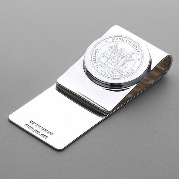 MIT Sterling Silver Money Clip