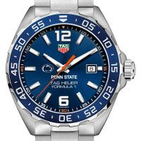 Penn State University Men's TAG Heuer Formula 1 with Blue Dial & Bezel