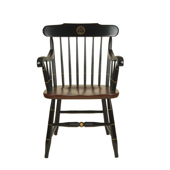 University of Illinois Captain's Chair by Hitchcock