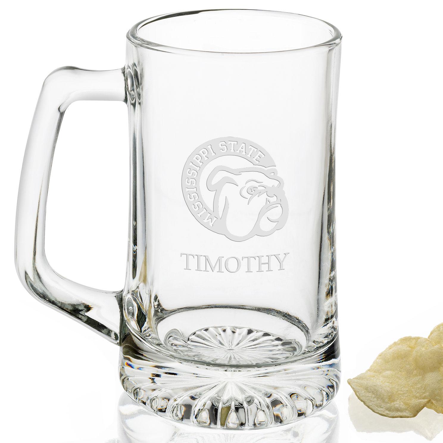 Mississippi State 25 oz Beer Mug - Image 2