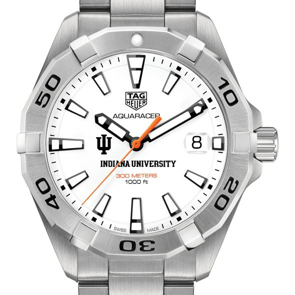 Indiana University Men's TAG Heuer Steel Aquaracer