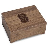 North Carolina State Solid Walnut Desk Box