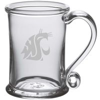 Washington State University Glass Tankard by Simon Pearce