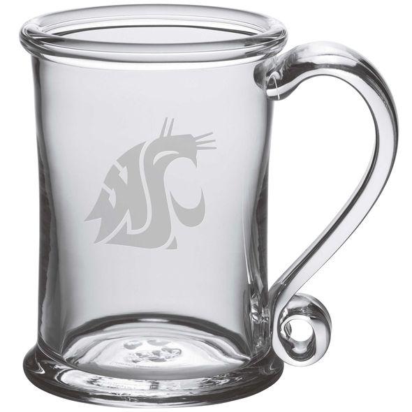Washington State University Glass Tankard by Simon Pearce