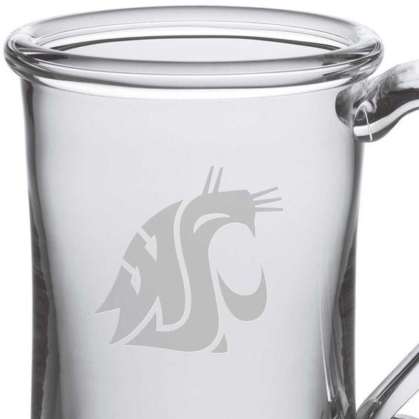 Washington State University Glass Tankard by Simon Pearce - Image 2