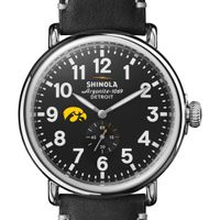 Iowa Shinola Watch, The Runwell 47mm Black Dial