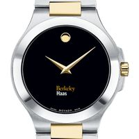 Berkeley Haas Men's Movado Collection Two-Tone Watch with Black Dial
