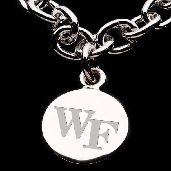 Wake Forest Sterling Silver Charm Bracelet - Image 2