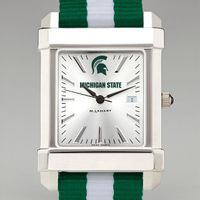 Michigan State University Collegiate Watch with NATO Strap for Men