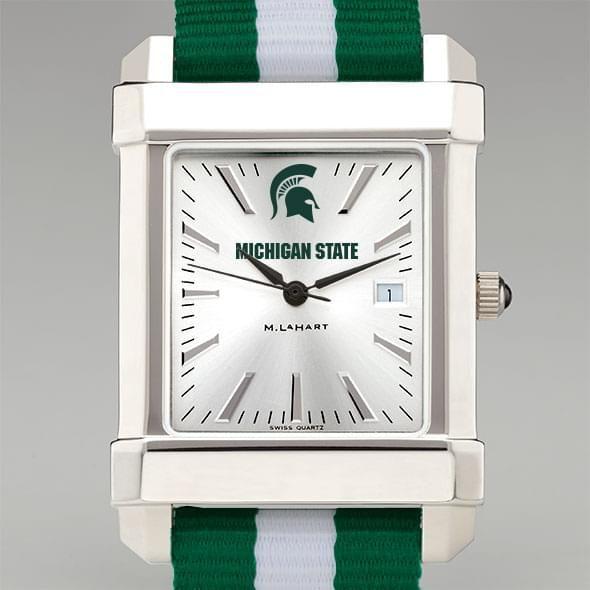Michigan State University Collegiate Watch with NATO Strap for Men