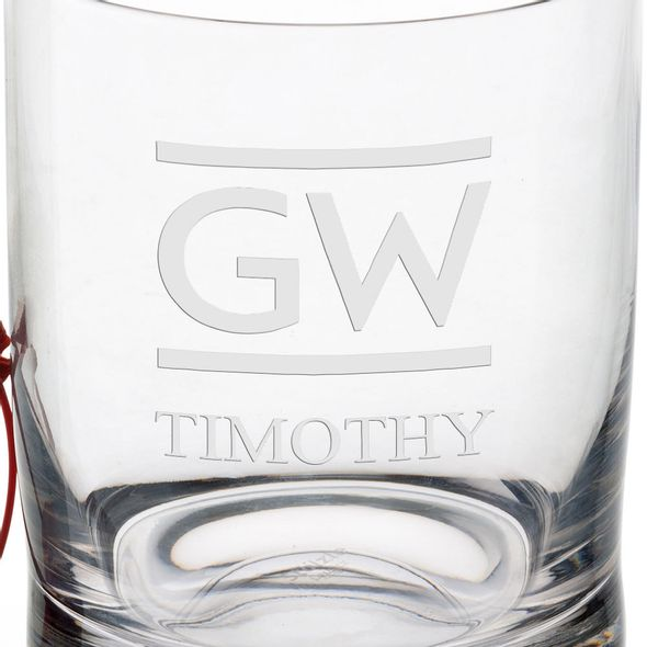 George Washington University Tumbler Glasses - Set of 2 - Image 3