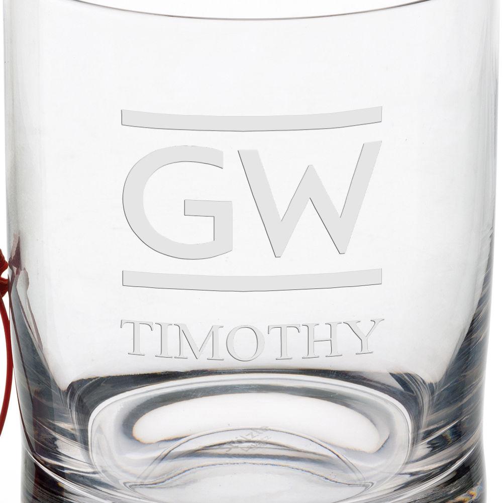 George Washington University Tumbler Glasses - Set of 2 - Image 3