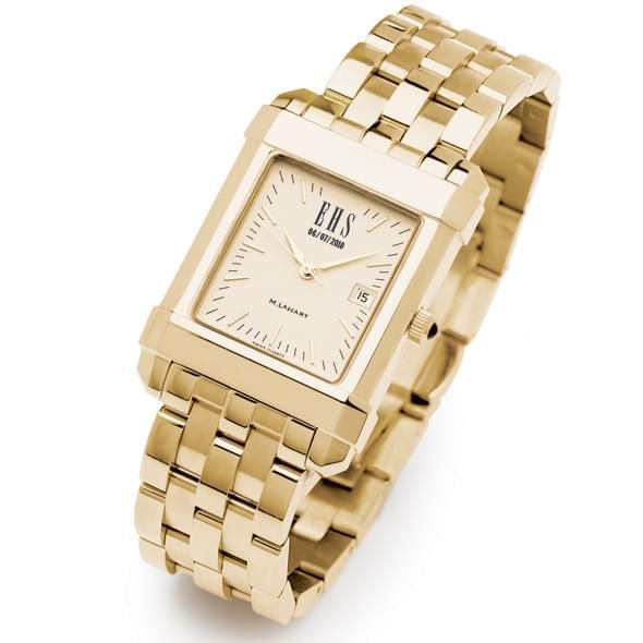 Men's Gold Quad Watch with Bracelet - Image 1
