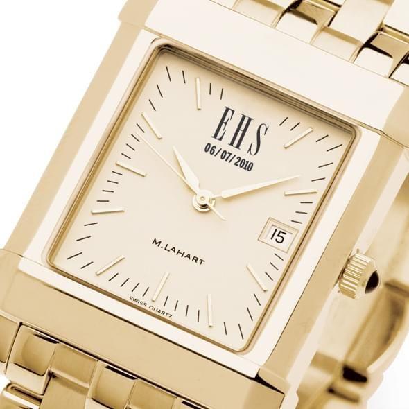 Men's Gold Quad Watch with Bracelet - Image 2
