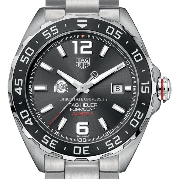 Ohio State Men's TAG Heuer Formula 1 with Anthracite Dial & Bezel - Image 1