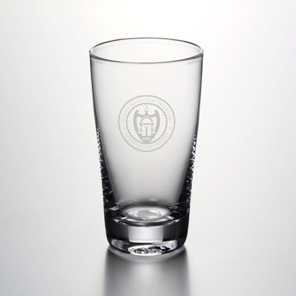 Georgia Tech Pint Glass by Simon Pearce