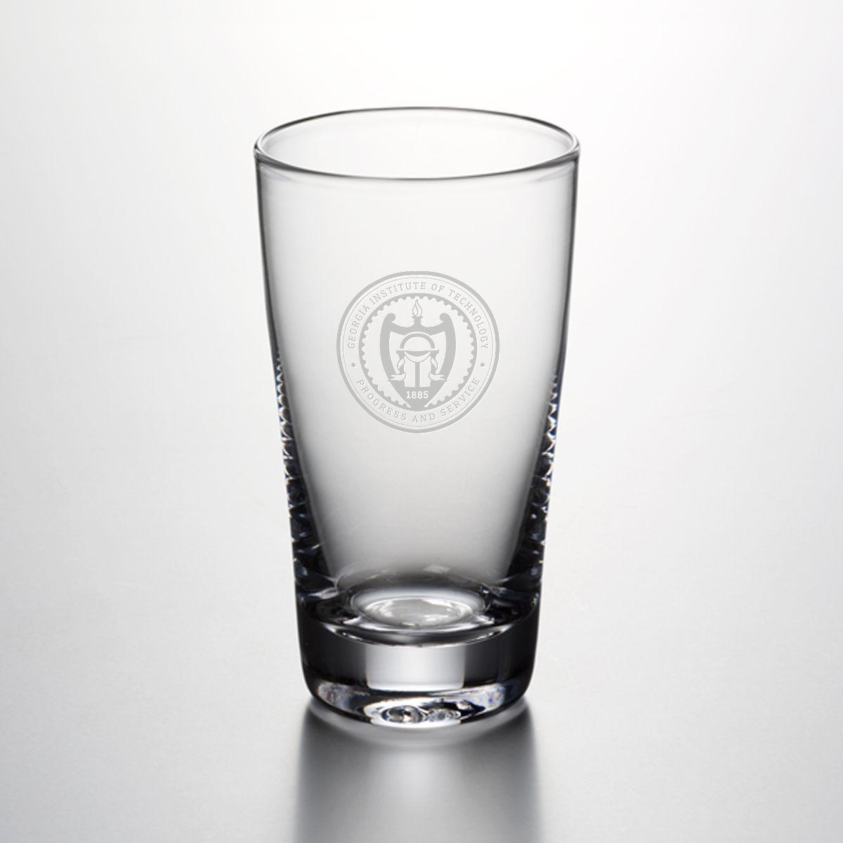 Georgia Tech Pint Glass by Simon Pearce