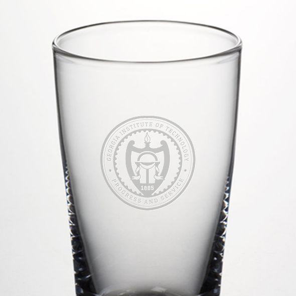 Georgia Tech Pint Glass by Simon Pearce - Image 2