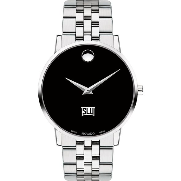 Saint Louis University Men's Movado Museum with Bracelet - Image 2