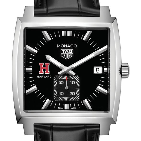 Harvard University TAG Heuer Monaco with Quartz Movement for Men - Image 1