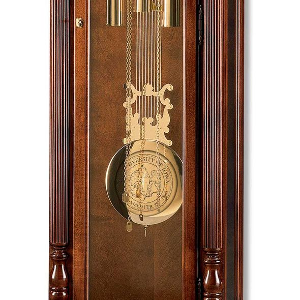University of Iowa Howard Miller Grandfather Clock - Image 2