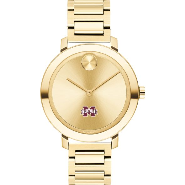 Mississippi State Women's Movado Gold Bold 34 - Image 2