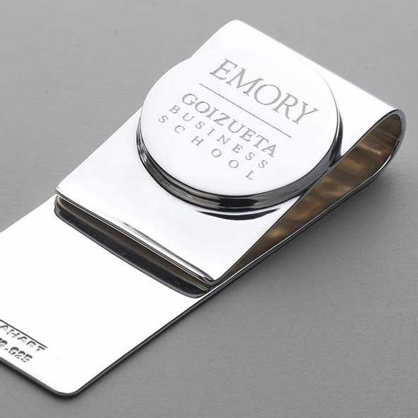 Emory Goizueta Sterling Silver Money Clip - Image 2