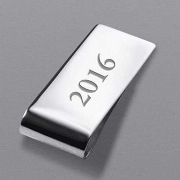 Emory Goizueta Sterling Silver Money Clip - Image 3