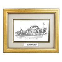 Columbia Black Ink Gold Frame