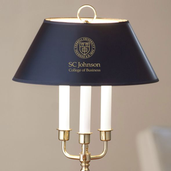 SC Johnson College Lamp in Brass & Marble - Image 2