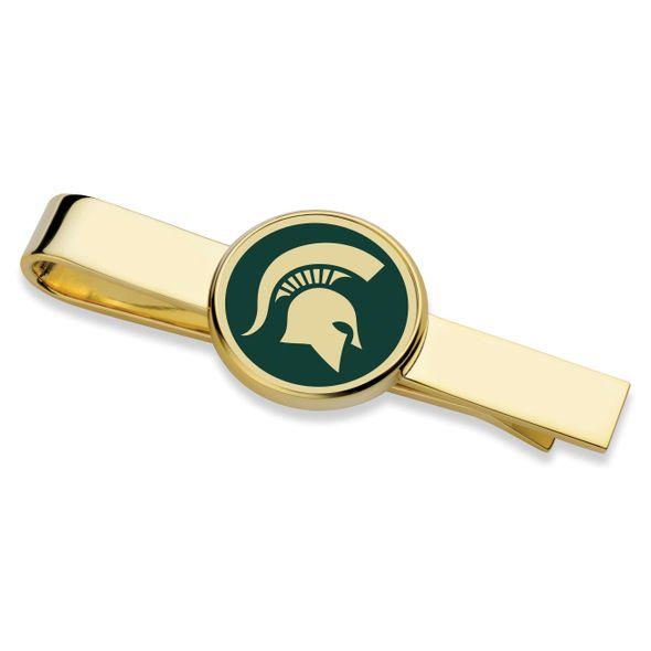 Michigan State University Enamel Tie Clip