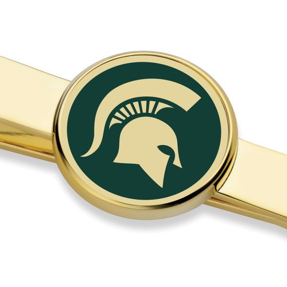 Michigan State University Enamel Tie Clip - Image 2