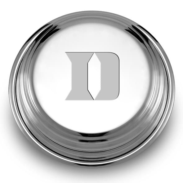 Duke Pewter Paperweight - Image 1