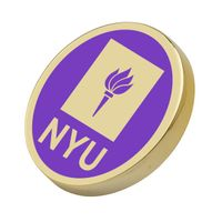 New York University Enamel Lapel Pin