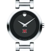 Miami University Women's Movado Museum with Steel Bracelet